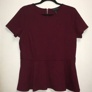 Forever 21 Women's Peplum Top